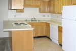 Mark VI 2 Bedroom Unit Kitchen