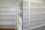 Mark VI 2 Bedroom Unit Storage Room with Floor to Ceiling Shelving